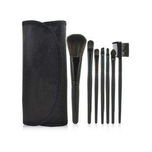 Other - 7 Piece Makeup Brush Set w/ Travel Bag - BLACK